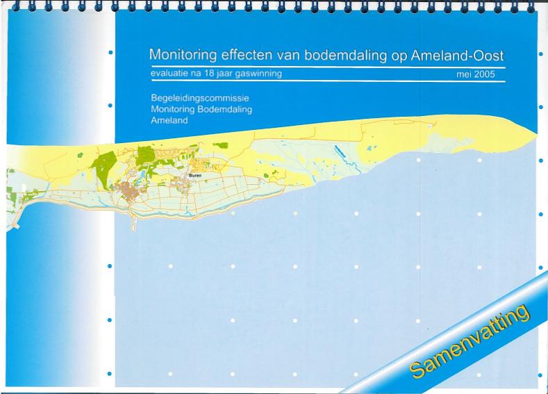 Monitoring effecten van bodemdaling op Ameland-Oost [DUTCH]