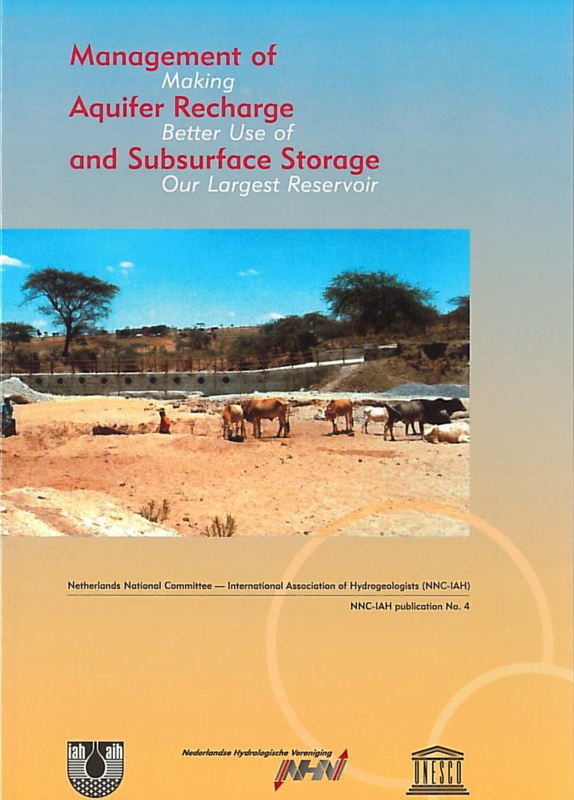 Management of Aquifer Recharge and Subsurface Storage