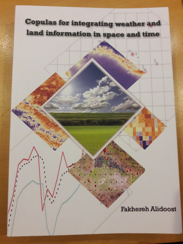 Copulas for integrating weather and land information in space and time