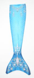 Zeemeermin staart shiny coat Blue Diamont