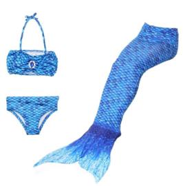 Zeemeermin staart Donker blauw