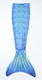 Zeemeermin staart shiny coat Blue Sea