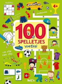 100 spelletjes voetbal 4+