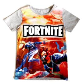 Fortnite t-shirt oranje