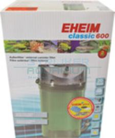 Eheim filter Classic 600, met filtermassa