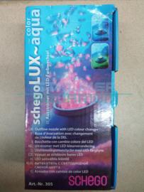 Schegolux -aqua LED uitstromer met kleurverandering