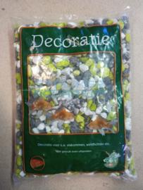 Grind gravel mix groen/grijs 1kg