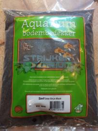 Aquarium zand zwart 'onyx black' 4kg