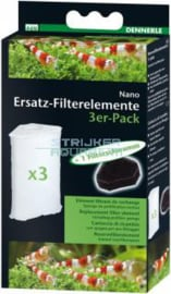 Dennerle VERVANGING FILTERELEMENT 3 PACK