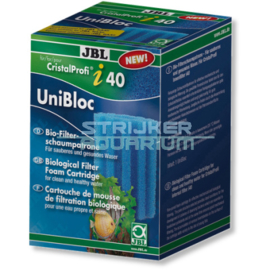 JBL UniBloc CristalProfi i40/TekAir blauw/grof