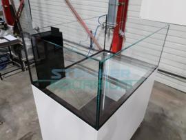 Rimless aquarium verkrijgbaar in diverse afmetingen naar wens