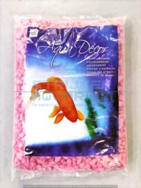 Aquarium glans grind roze 1kg
