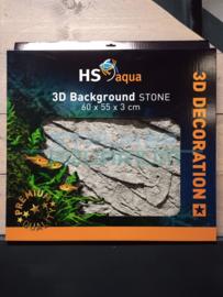 Achterwand/ background stone grijs 65x45x3cm