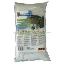 Filterwatten wit 250gr