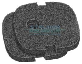 sera filterspons zwart tbv bioactive filter 250/ 250 uv en 400 uv