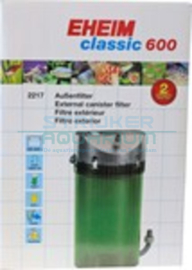 Eheim filter Classic 600, zonder filtermassa
