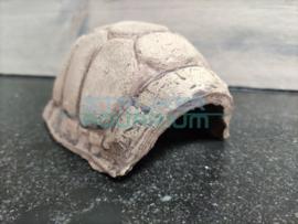 Decoratie schildpad schild keramiek