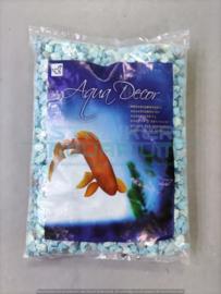 """Aquarium grind """"baby"""" blauw 1kg"""