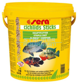 sera cichlids Sticks 10ltr