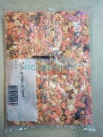 Grind gravel mix orange/ oranje 1kg