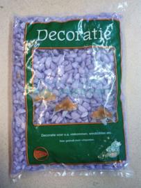 Lila/paars glitter gravel/ grind 1kg