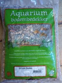 Aquarium grind donker mix 3-6 mm 8kg