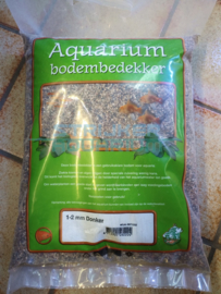 Aquarium grind donker mix 1-2 mm 8kg
