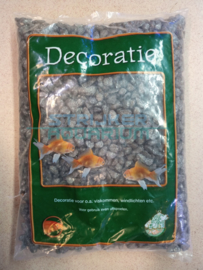 Glitter grind gravel antraciet/grijs 1kg