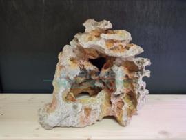 Decoratie natuurlijke kunst steen met gat