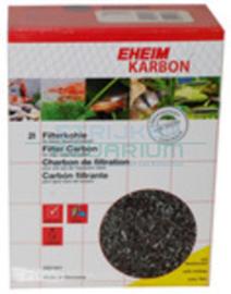 Eheim karbon met perlonzak 2 liter