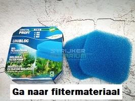 Filtermateriaal kopen aquarium