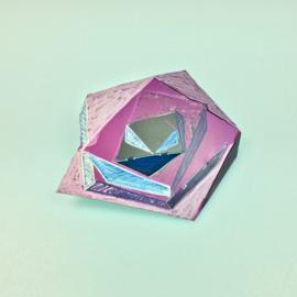 Pin 'Crazy Diamond'