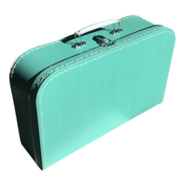 "Koffertje, ""groot"" Turquoise"