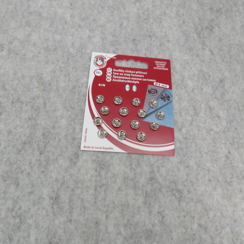 Mini drukknoopje 8mm