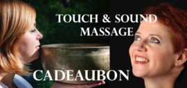 Cadeaubon VIP Touch & Sound massage
