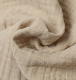 ➳ Fitted sheets - Super Soft Muslin / Double Gauze - Sand