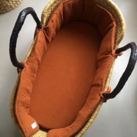 ➳ Cosy Basket Bumper Cognac