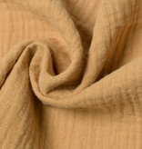 ➳ Fitted sheets - Super Soft Muslin / Double Gauze - Camel