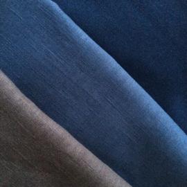 mondkapje linnen dusty blue