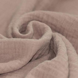 ➳ Fitted sheets - Super Soft Muslin / Double Gauze - Dark Beige/Light Taupe