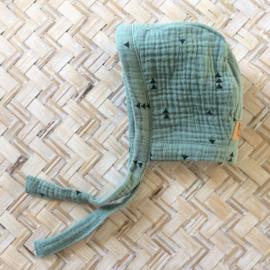 Rock that Bonnet |Sage Green | PRE tot 6 jaar