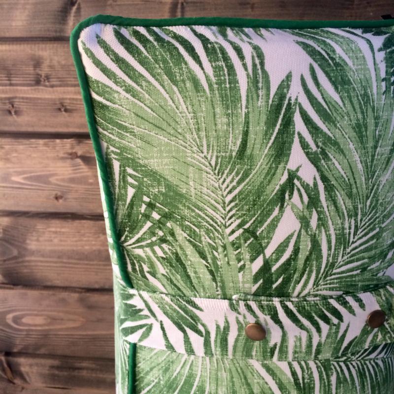 Speelmatras Urban Jungle Leafs Green