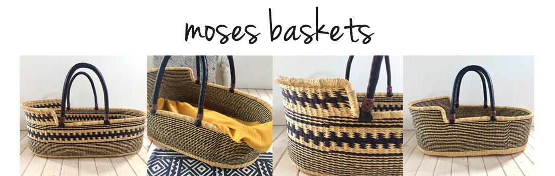 Moses baskets header button