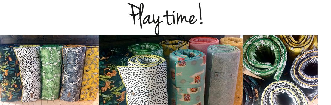 Playtime! speelmatrasjes