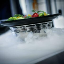 THE ICED-DRY ICE MAKER