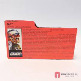 G.I. Joe File Card Zap