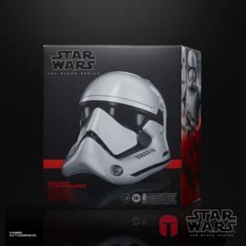 PRE-ORDER Star Wars Episode VIII Black Series Electronic Helmet First Order Stormtrooper