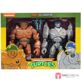 Teenage Mutant Ninja Turtles (TMNT) 2-Pack Tragg & Grannitor