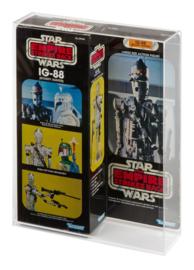 "Star Wars Boxed 12"" Display Case (Vader Fett Chewbacca IG-88)"