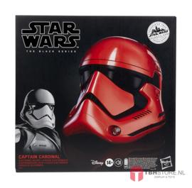 PRE-ORDER Star Wars Galaxy's Edge Black Series Electronic Helmet Captain Cardinal